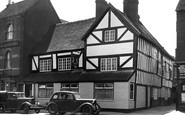 Uttoxeter, The Old Talbot Inn c.1955