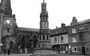 Uttoxeter, War Memorial c.1955