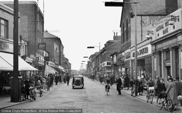 Wallasey Liscard Road C 1960 Francis Frith