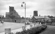 Wallasey, St Hilary's Church c1950