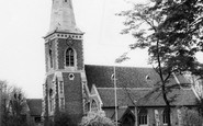 Wallington, Holy Trinity Parish Church, Manor Road c1965