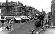 Wallington, Woodcote Road c1955