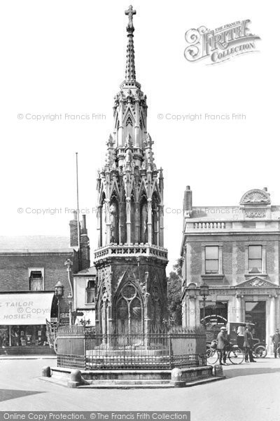 Waltham Cross, Queen Eleanor Cross 1921