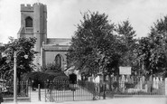 Walthamstow, St Mary's Church 1903