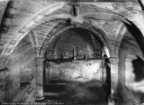 Warkworth, The Hermitage c.1965