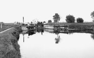 Waterbeach, Bottisham Locks, The River Cam c.1955