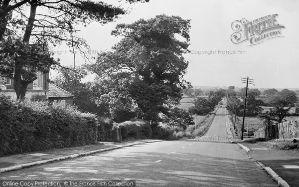 Waterlooville, Hambledon Road c.1955