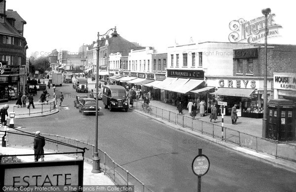 Photo of Welling, Bellegrove Road 1955