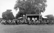 Welling, Concert Party In Danson Park c.1955