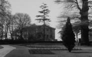 Welling, Mansion Garden, Danson Park c.1955
