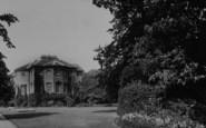 Welling, The Mansion, Danson Park c.1950
