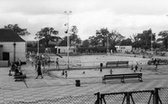 Welling, The Swimming Pool, Danson Park c.1950