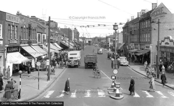 Photo of Welling, Welling Corner 1955