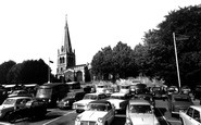 Wellingborough, All Hallows Church c.1965