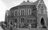 Wellingborough, Congregational Church c1955