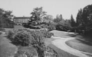 Wellingborough, Croyland Hall Gardens c.1965