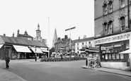Wellingborough, Market Street 1954