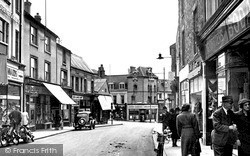 Wellingborough, Silver Street c1950