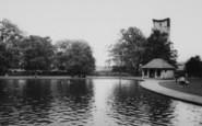 Wellingborough, The Paddling Pool c.1965