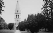 Wellingborough, The Parish Church c.1965