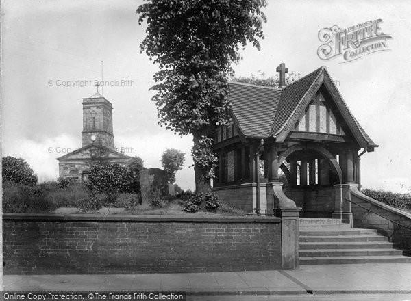 Wellington, Church Of All Saints And War Memorial 1925