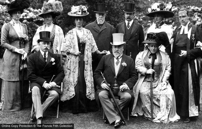 Wellington College, The King At Wellington College 1909