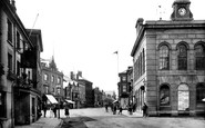 Photo of Wellington, Fore Street 1912
