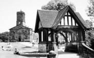 Wellington, Parish Church And Lychgate c.1965