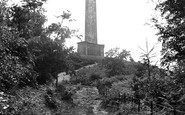 Photo of Wellington, the Monument 1912