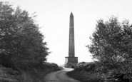 Wellington, The Monument c.1955