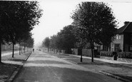 Welwyn Garden City, Longcroft Lane c.1955