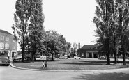 Welwyn Garden City, Station Approach c.1955