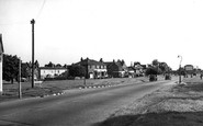 Photo of Weston Green, Hampton Courtway c1955