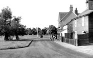 Photo of Weston Green, Village c1955