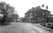 Weston Under Penyard, The Vicarage c.1955
