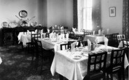 Weston Under Penyard, The Wye Hotel, The Dining Room c.1955