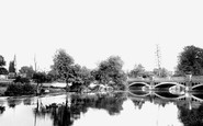 Weybridge, the Church and the River Wey1890