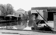 Whitchurch, the Wharf c1955