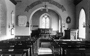 Whitney, the Church Interior c1950