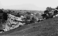 Whitwell, High Hill Rocks c.1955