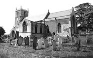Photo of Whitwell, St Lawrence's Church c1960