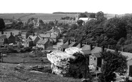 Photo of Whitwell, the Church from High Hill c1955