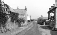 Photo of Whitwell, the Village c1960