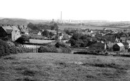 Photo of Whitwell, view from Sunnyside c1965