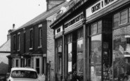 Whitwell, Welbeck Street, Grocery Shop c.1965