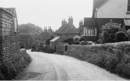 Photo of Whitwell, Worksop Road c1960