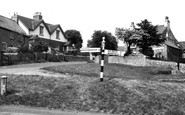 Photo of Whitwell, Worksop Road c1965