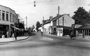 Wickford, Hall's Corner and the High Street c1955