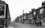 Willington, Shops, High Street 1962