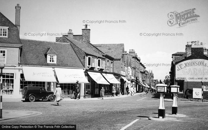 Wilmslow Grove Street C 1955 Francis Frith